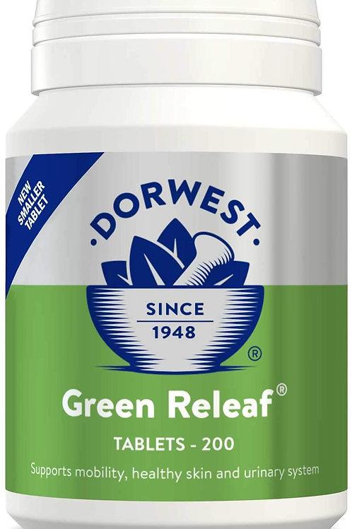 Dorwest Green Releaf Tablets x100