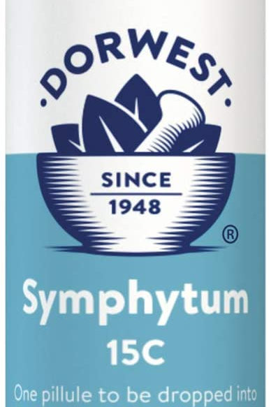 Dorwest Symphytum 15C Homeopathic Remedy for Dogs and Cats x100