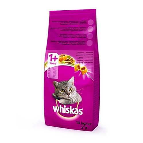 WHISKAS ADULT CHICKEN - 14KG