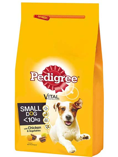 PEDIGREE SMALL DOG DRY POULTRY - 2KG