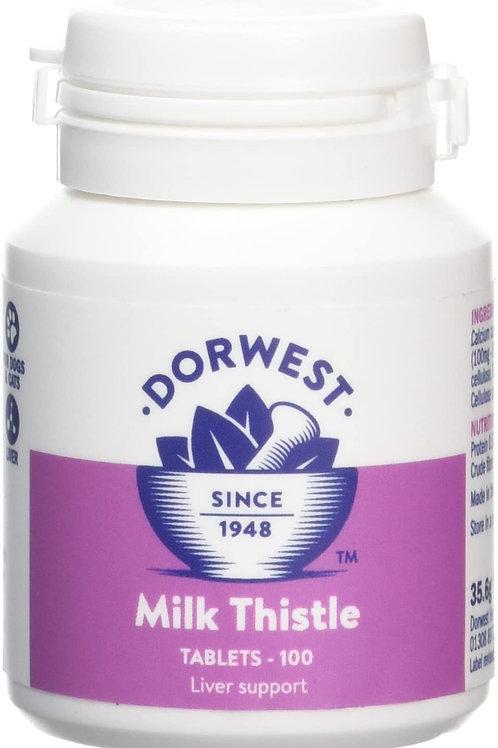 Dorwest Milk Thistle tablets x100
