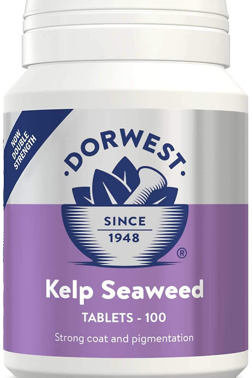 Dorwest Kelp Seaweed Tablets for Dogs and Cats 100 Tablets