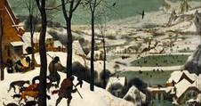 Brugel the Elder Hunters in the Snow
