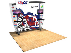 Delivering More_Booth_graphics