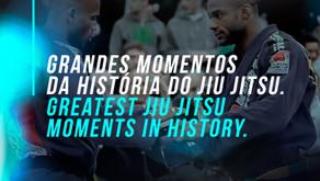 Greatest Jiu Jitsu moments in History