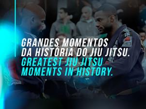 Grandes momentos da história do Jiu Jitsu.