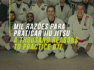 Mil razões para praticar Jiu Jitsu