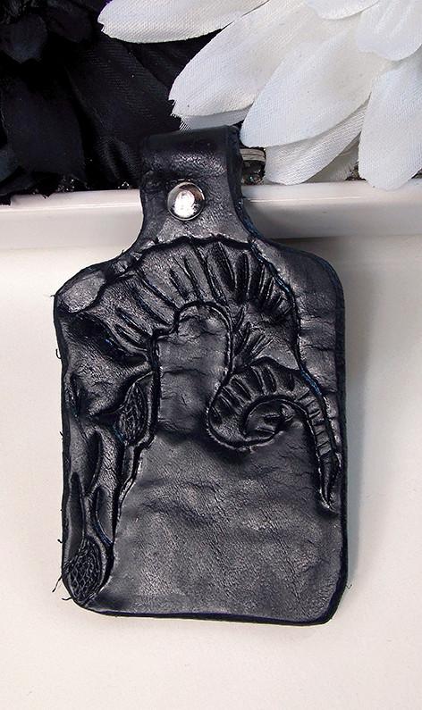 Ziegenschädel schwarz
