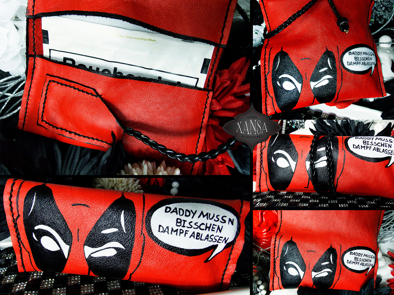 Deadpool Tabaktasche