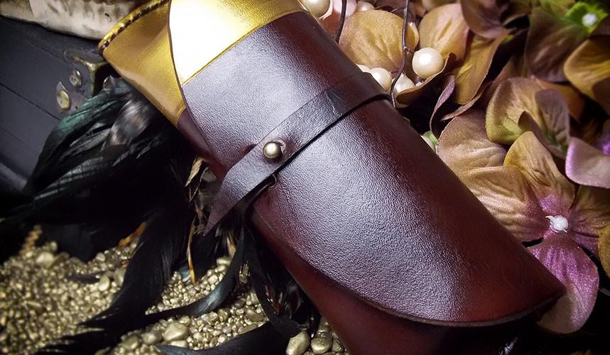 Colorblock Gold
