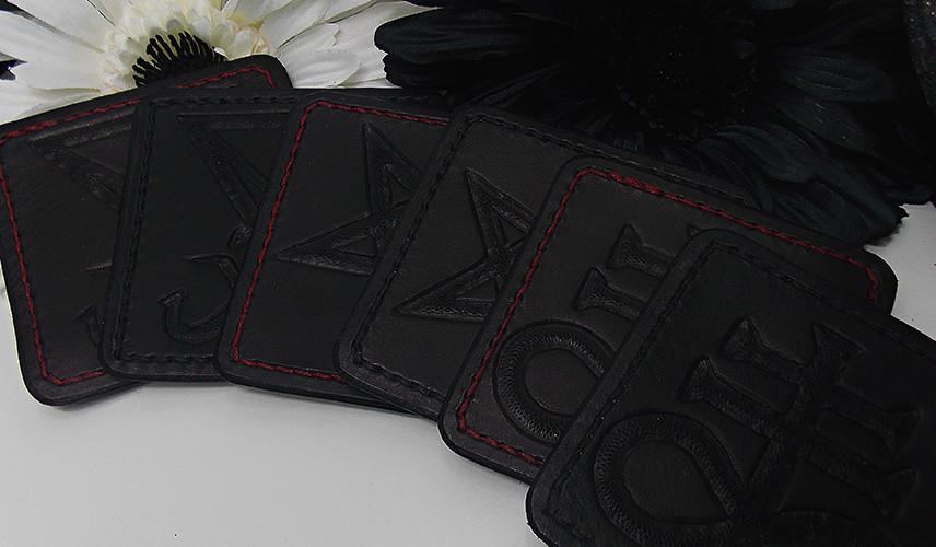 3 rot 3 schwarz
