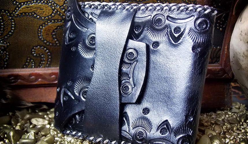 Schwarz Muster