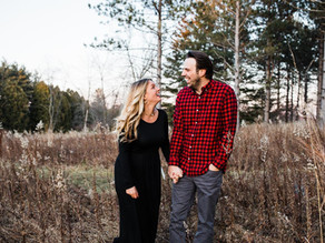 Lake Country Engagement Love: Anna & Ben