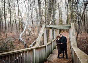 Sun kissed, cozy Wisconsin engagement session: Ceilidh & Eric