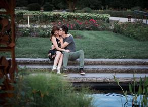 Love in bloom at the Boerner Botanical Gardens