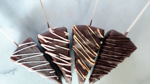 Assorted Frozen Cheesecake on Sticks,