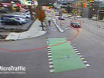 Bicycle right turn safety - 200 site pooled study.
