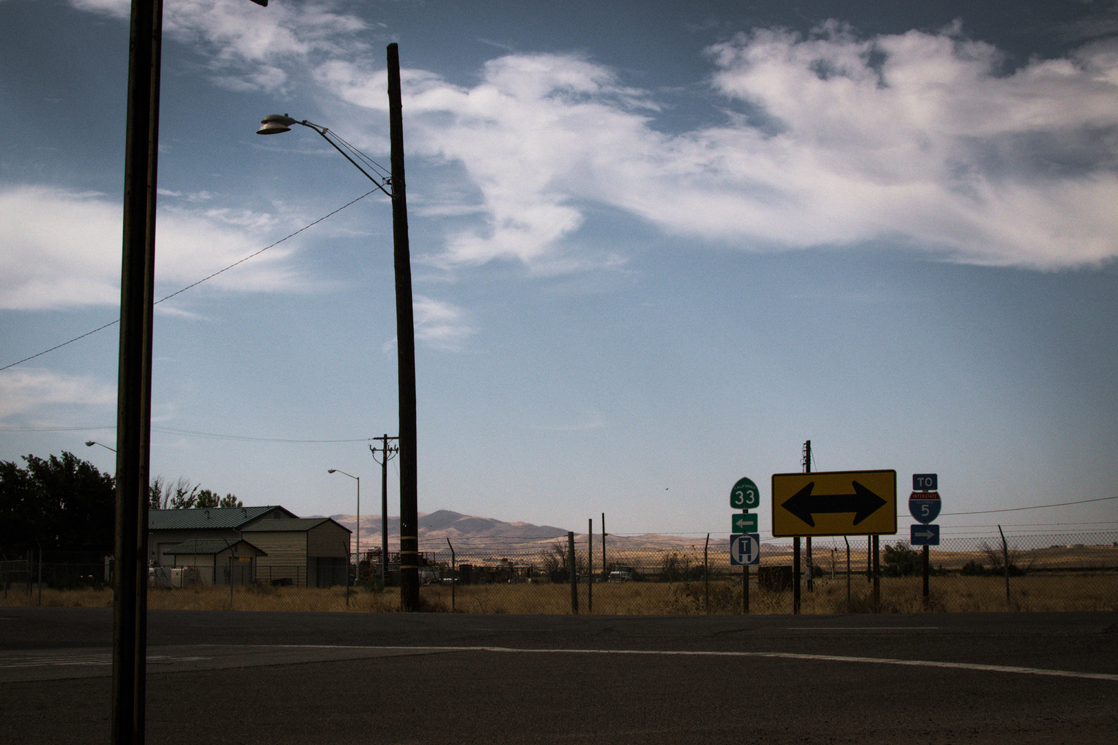EXT. Near Prison, Buttonwillow, CA
