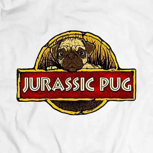 Jurassic Pug T-Shirt