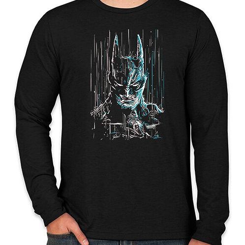 Batman Rain Long Sleeve Long Sleeve T-Shirt