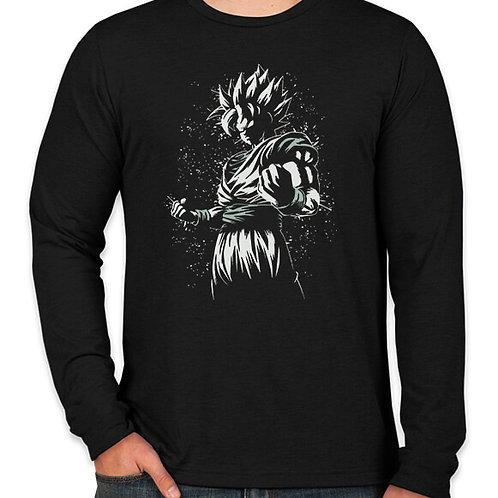 Dragonball: Super Saiyan Charge Up Long Sleeve T-Shirt