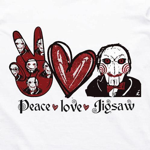 Peace, Love, Jigsaw T-Shirt