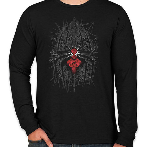 Spiderman: Spiderweb Long Sleeve Long Sleeve T-Shirt