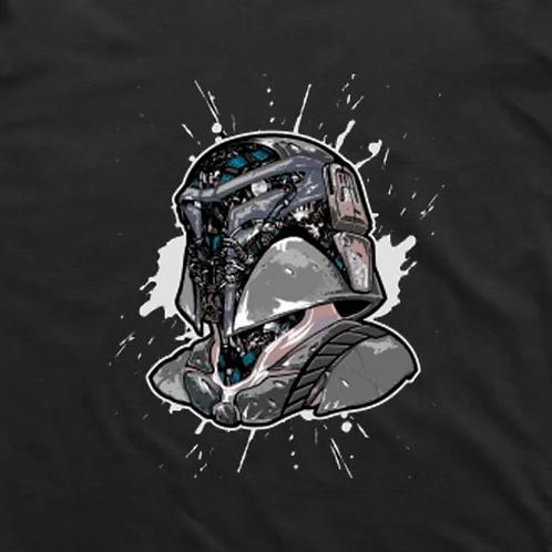 Techno Mandalorian  T-Shirt