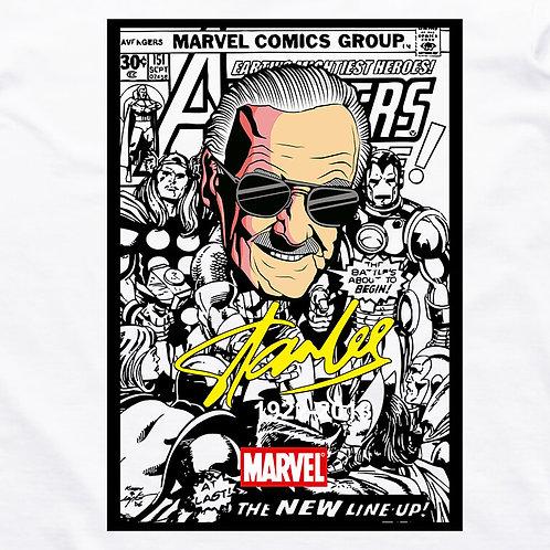 Avengers: Stan Lee Tribute Short Sleeve T-Shirt