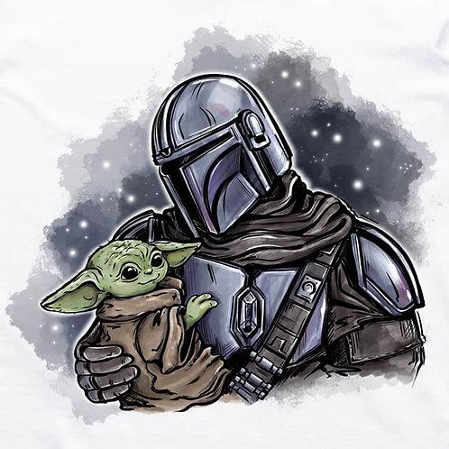Mando and Baby Yoda T-Shirt
