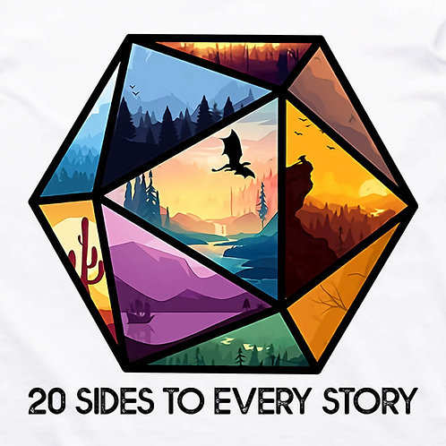 20 Sides T-Shirt