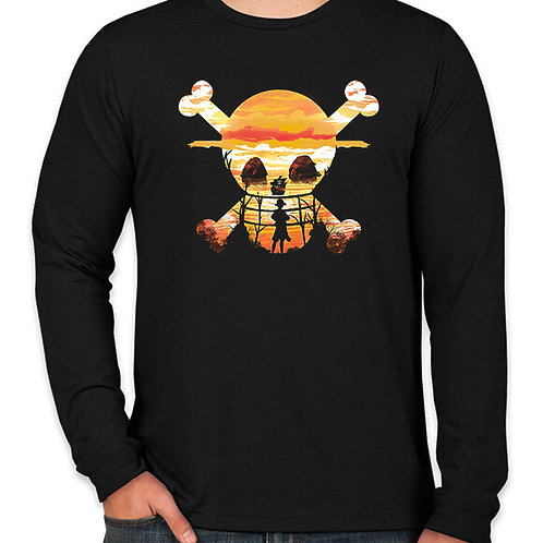 One Piece: Pirates Long Sleeve T-Shirt