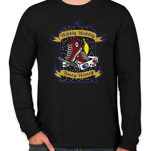 Doctor Who: Wibbly Wobbly Long Sleeve Long Sleeve T-Shirt