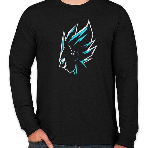 Dragonball : Vegeta Long Sleeve T-Shirt