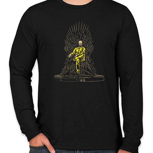 Walter White: Iron Throne Long Sleeve T-Shirt