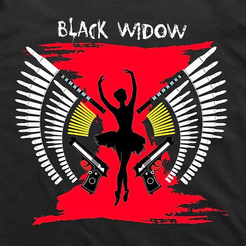 Black Widow Short Sleeve T-Shirt