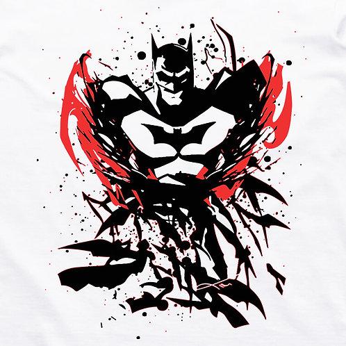 Batman: Scattered Short Sleeve T-Shirt
