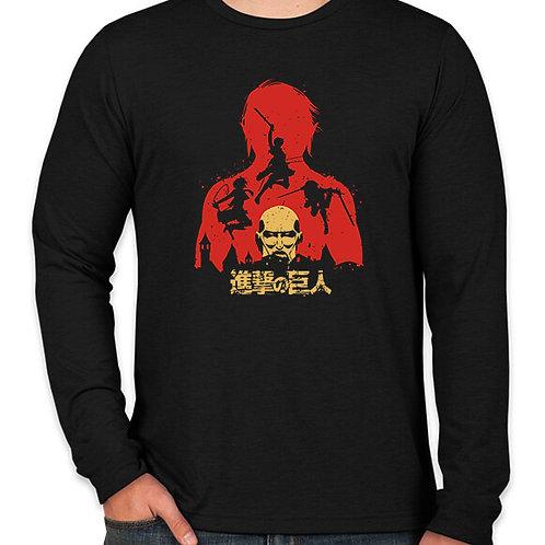 Attack on Titan: Wall Maria Long Sleeve Long Sleeve T-Shirt