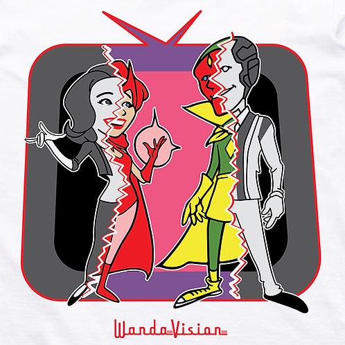 Wandavision Retro Comic T-Shirt