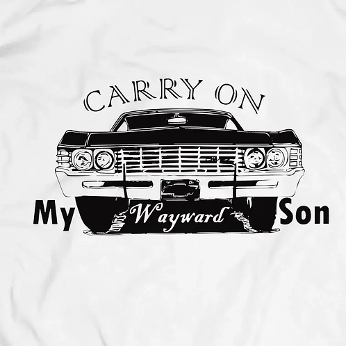 Supernatural: Carry On T-Shirt