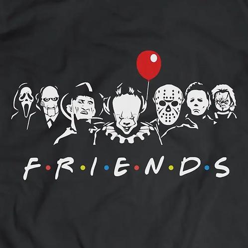 Horror F.R.I.E.N.D.S Short Sleeve T-Shirt