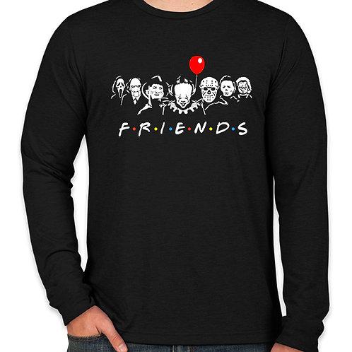 Horror F.R.I.E.N.D.S Long Sleeve T-Shirt