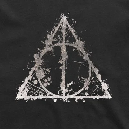 Deathly Hallows T-shirt: Abstract