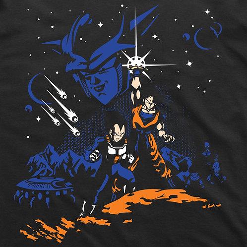 Dragonball: Goku Vegeta Short-Sleeved T-Shirt