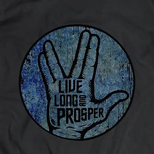 Star Trek: Live Short and Prosper Short Sleeve T-Shirt