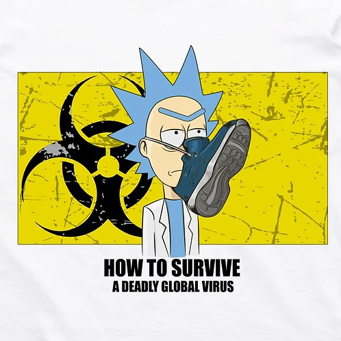 Rick and Morty: Deadly Global Virus T-Shirt