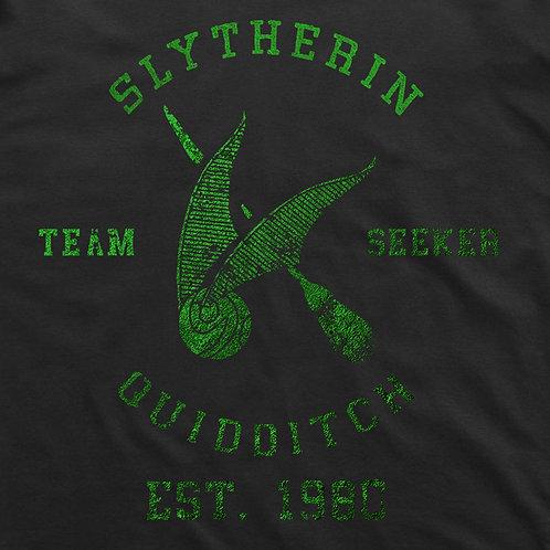Slytherin Quidditch T-shirt: Seeker