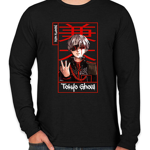 Tokyo Ghoul: Kaneki Long Sleeve T-Shirt