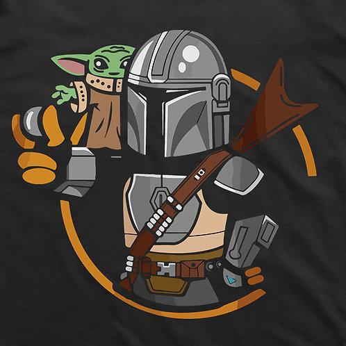 Stylized Mandalorian  T-Shirt