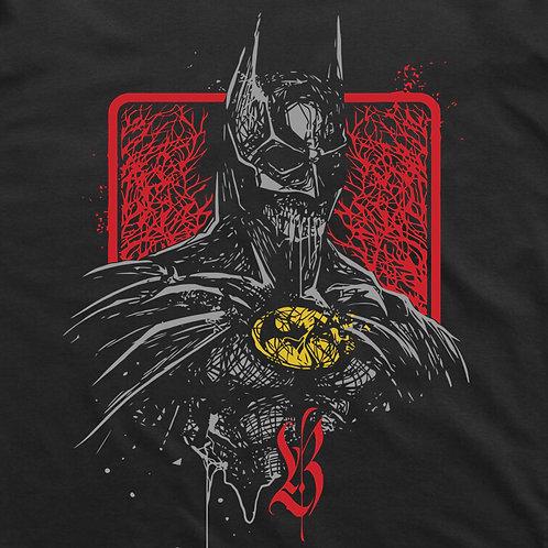 Grunge Batman Short Sleeve T-Shirt